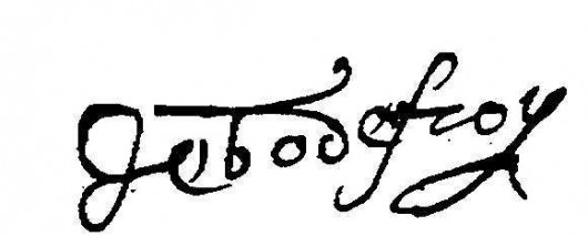 Godefroy, jean (signature)